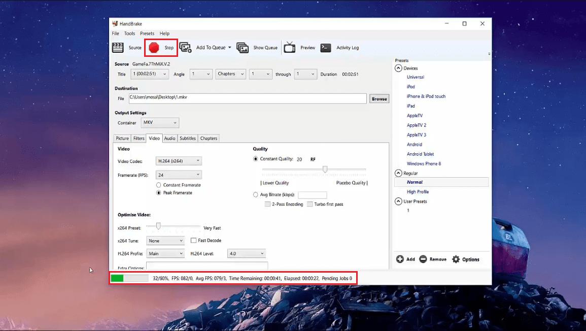 کاهش حجم ویدیو بدون افت کیفیت